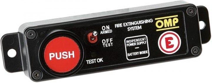 Włącznik do elektrycznego systemu gaśniczego OMP - GRUBYGARAGE - Sklep Tuningowy